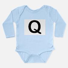 Letter Q Body Suit