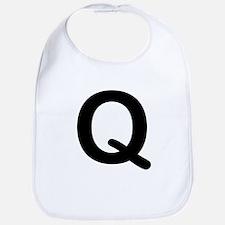 Letter Q Bib