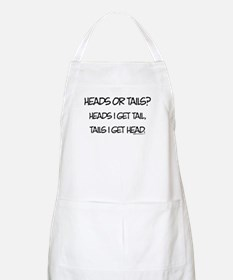 Heads or Tails? BBQ Apron