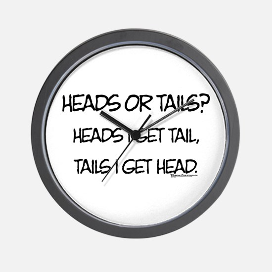 Heads or Tails? Wall Clock