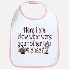 Two wishes Bib