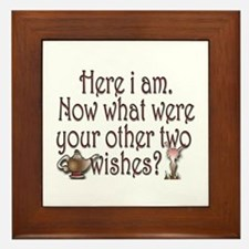 Two wishes Framed Tile