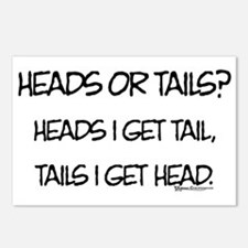 Heads or Tails? Postcards (Package of 8)