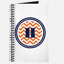 Orange & Navy Journal