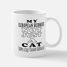 European Burmese Cat Designs Mug