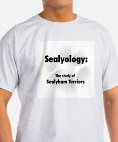 Sealyology Ash Grey T-Shirt