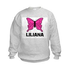 Liliana - Butterfly Sweatshirt