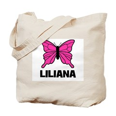 Liliana - Butterfly Tote Bag