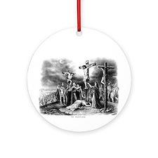 The Crucifixion Ornament (Round)