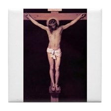 The Crucifixion Tile Coaster