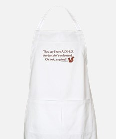ADHD Squirrel Apron