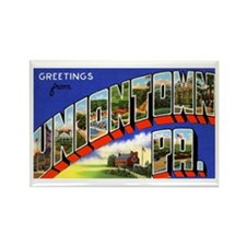 Uniontown Pennsylvania Greetings Rectangle Magnet