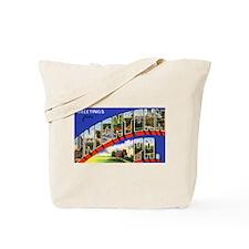 Uniontown Pennsylvania Greetings Tote Bag