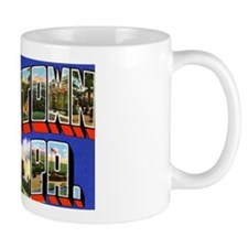 Uniontown Pennsylvania Greetings Mug