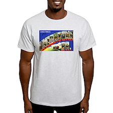 Uniontown Pennsylvania Greetings Ash Grey T-Shirt