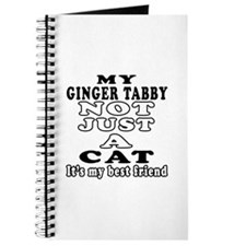 Ginger tabby Cat Designs Journal