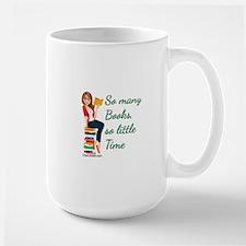 So many Books, so little time Mug