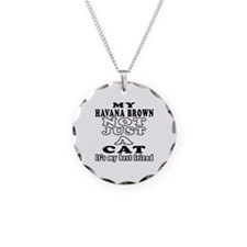 Havana Brown Cat Designs Necklace