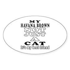 Havana Brown Cat Designs Decal