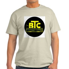BTC Car Logo Ash Grey T-Shirt