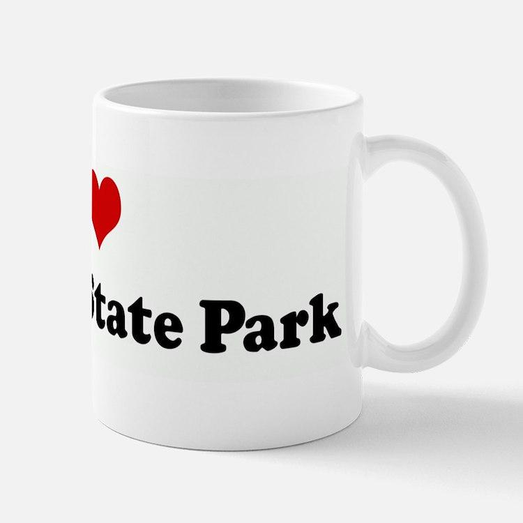 I Love Chugach State Park Mug