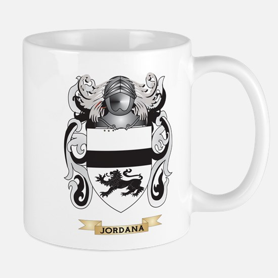 Jordana Coat of Arms (Family Crest) Mug