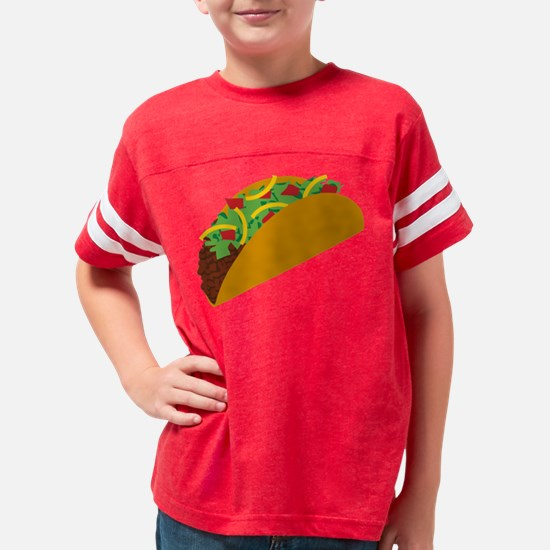 Taco Graphic Youth Football Shirt