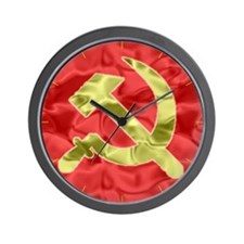 Hammer and Sickle Wall Clock