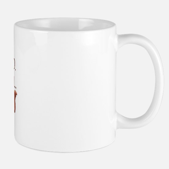ADHD Squirrel Mug