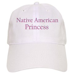 Native American Princess Baseball Cap