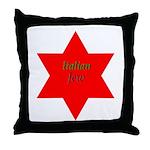 Italian Jew Throw Pillow