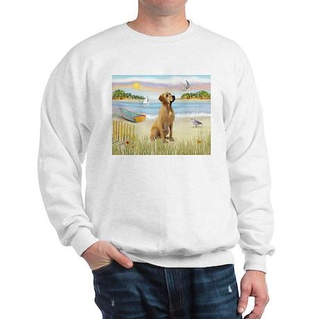 Rowboat & Yellow Lab Sweatshirt