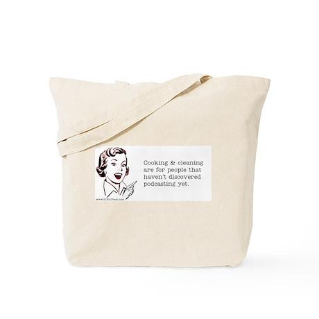 Podcasting Tote Bag