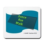 Dance Run Walk #2 by MAMP Creations! Mousepad
