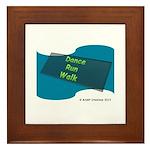 Dance Run Walk #2 by MAMP Creations! Framed Tile
