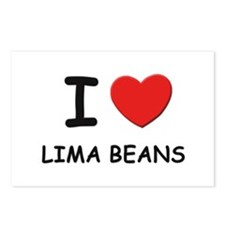 I love lima beans Postcards (Package of 8)