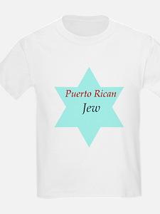 Puerto Rican Jew Kids T-Shirt