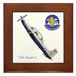 T-6A Texan II Framed Tile