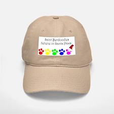 Saint Berdoodles Believe Baseball Baseball Cap