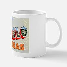San Angelo Texas Greetings Mug