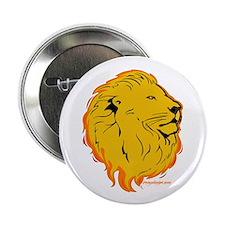 Lion Flame Art Button