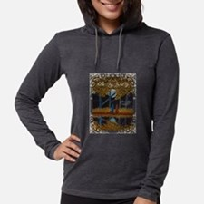 Cattle Dog Round Up 2017 Womens Hooded Shirt