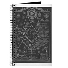 Cute Masonic symbol Journal