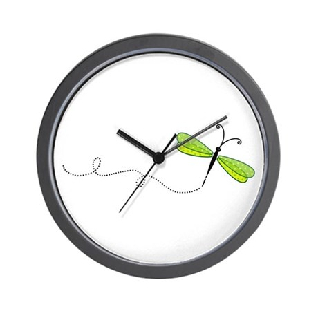 dragonfly clock