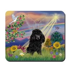 Cloud Angel & Poodle (#2) Mousepad