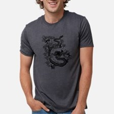 dragon_black.png Mens Tri-blend T-Shirt