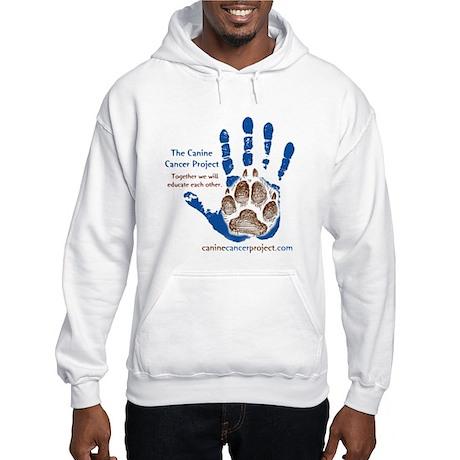 Hooded Sweatshirt - Large Logo, front on