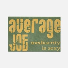 Average Joe Grunge Rectangle Magnet