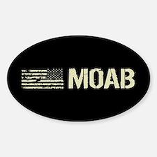 Black Flag: Moab Sticker (Oval)