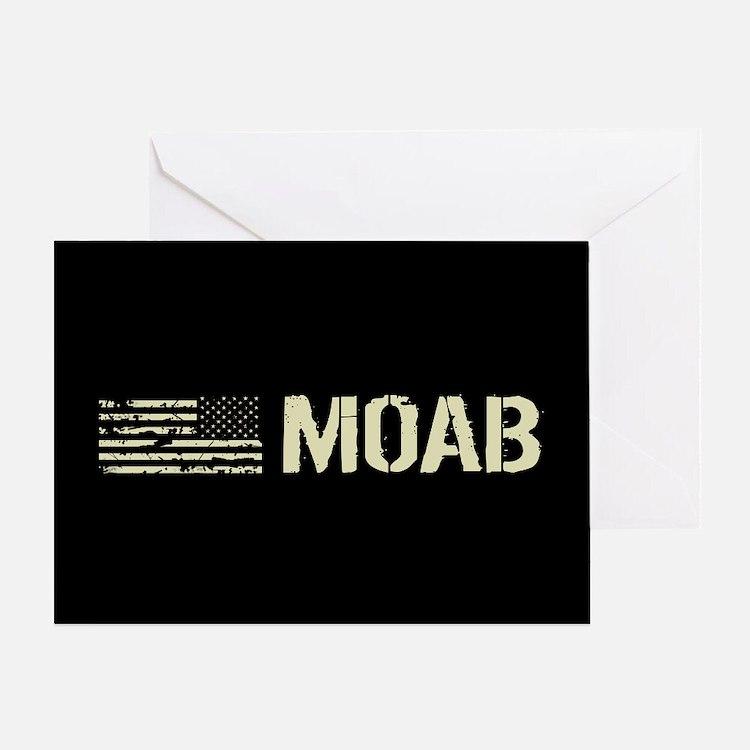 Black Flag: Moab Greeting Card